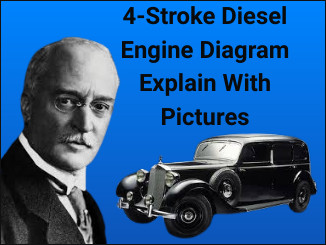 4-Stroke Diesel Engine Diagram Explain With Pictures