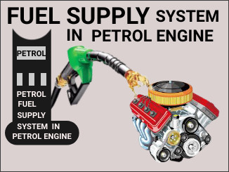 Fuel supply system in petrol engine