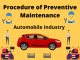 Procedure of Preventive Maintenance